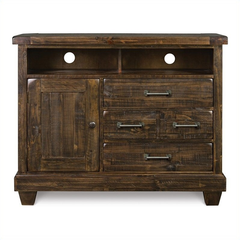 Brenley Media Chest in Natural Umbe