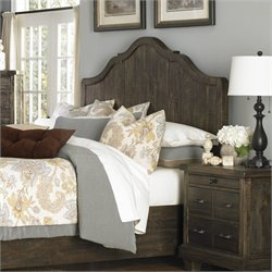 Magnussen Brenley Wood Panel Headboard in Umber - Queen
