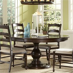 Magnussen Loren Wood Large Round Dining Table in Cherry