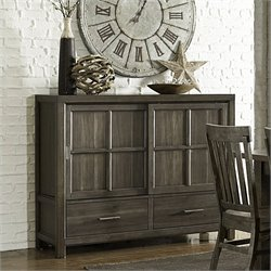 Magnussen Karlin Wood Sideboard in Grey Acacia