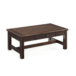 Magnussen Kinderton Wood Step-Up Rectangular Coffee  Table