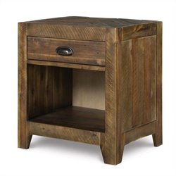 Magnussen Braxton Wood Open Nightstand in Natural