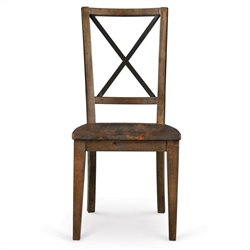 Magnussen Braxton Wood Desk Chair in Natural