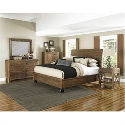 Magnussen River Ridge Casterbed Bedroom Set in Natural