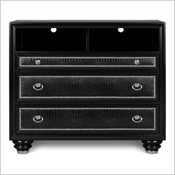 Magnussen Onyx Media Chest in Black