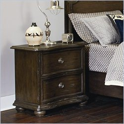Magnussen Muirfield Drawer Nightstand in Distressed Pine