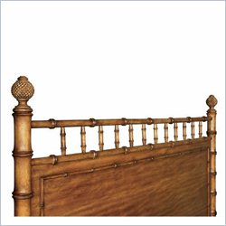 Magnussen Palm Bay Twin Poster Bed Headboard in Toffee