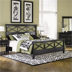 Magnussen Regan Panel Bed in Black