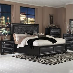 Magnussen OnyxIsland Bed in Black - Queen