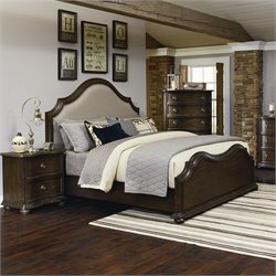 Magnussen Muirfield Unpholstered Bed in Distressed Pine - King
