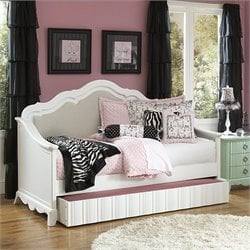 Magnussen Gabrielle Daybed in Snow White - Twin
