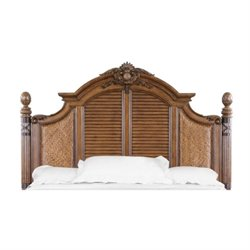 Magnussen Key West Queen Panel Headboard in Distressed Sienna