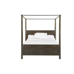 Magnussen Pine Hill Queen Poster Bed in Rustic Pine