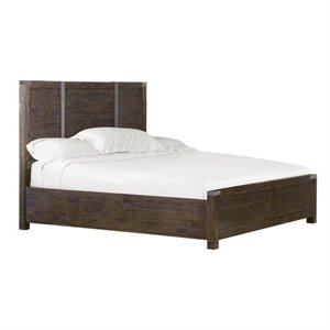 Magnussen Pine Hill Panel Bed in Rustic Pine