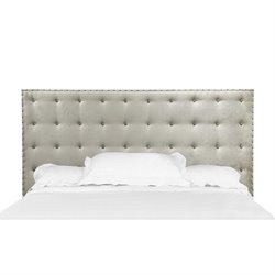 Magnussen B3564 Gramercy Wood Panel Bed Upholstered Headboard