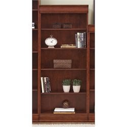 Louis Executive Bookcase in Deep Cherry