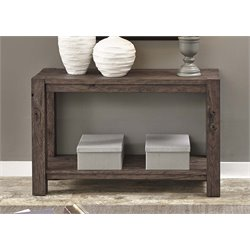 Liberty Furniture Mercer Court Console Table in Tobacco