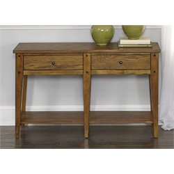 Liberty Furniture Lake House Console Table in Oak