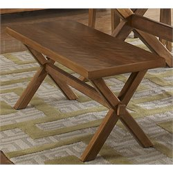 Liberty Furniture Keaton Dining Bench in Honey