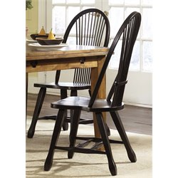 Treasures Sheaf Back Dining Side Chair