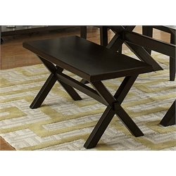 Liberty Furniture Keaton II Dining Bench in Charcoal
