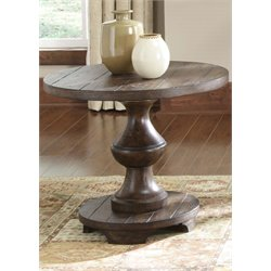 Liberty Furniture Sedona End Table in Kona Brown