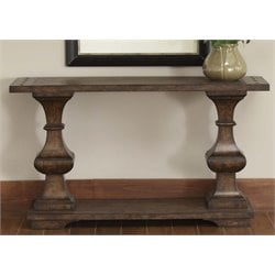 Liberty Furniture Sedona Console Table in Kona Brown