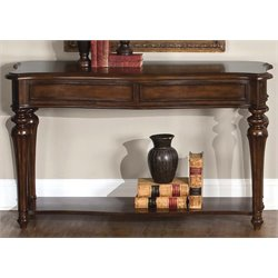 Liberty Furniture Andalusia Console Table in Vintage Cherry