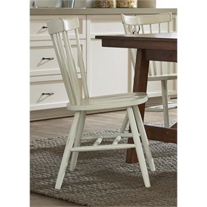 Liberty Furniture Creations II Copenhagen Dining Side Chair in White