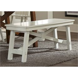 Liberty Furniture Creations II Dining Bench in White