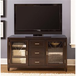 Liberty Furniture Caroline TV Stand in Espresso Stain