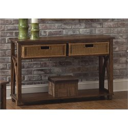 Liberty Furniture Chesapeake Bay Console Table in Sunset