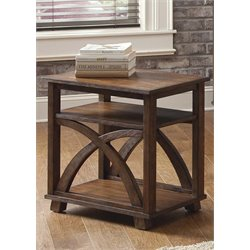 Liberty Furniture Chesapeake Bay Side Table in Sunset