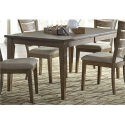 Liberty Furniture Pebble Creek I Dining Table in Butterscotch