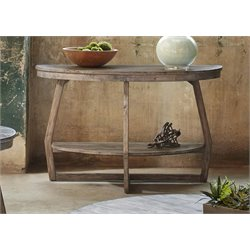 Liberty Furniture Hayden Way Console Table in Gray Wash