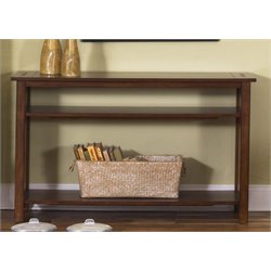 Liberty Furniture Prairie Hills Console Table in Satin Cherry