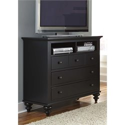 Liberty Furniture Hamilton III 3 Drawer Media Chest in Black