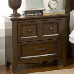 Liberty Furniture Laurel Creek Nightstand in Cinnamon