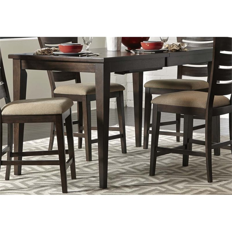 Top quality liberty furniture pebble creek ii counter for Best quality dining tables