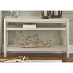 Liberty Furniture Dockside II Console Table in White
