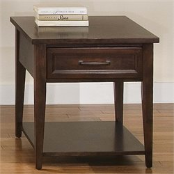 Liberty Furniture Lakewood End Table in Amaretto