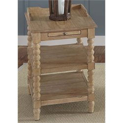 Liberty Furniture Harbor View Side Table in Sand
