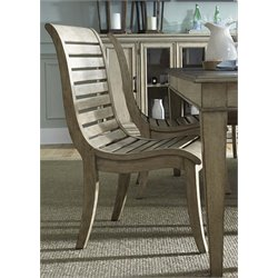 Liberty Furniture Grayton Grove Slat Back Dining Side Chair