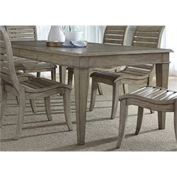 Liberty Furniture Grayton Grove Dining Table in Driftwood