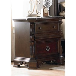 Liberty Furniture Arbor Place Nightstand in Brownstone