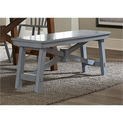 Liberty Furniture Creations II Dining Bench in Blue