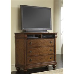 Liberty Furniture Traditions 3 Drawer Media Chest in Cherry
