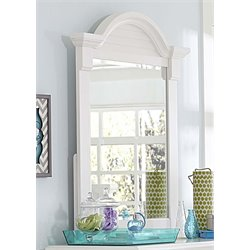 Summer House Mirror in Oyster White