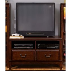 Liberty Furniture Chelsea Square 2 Drawer TV Stand in Tobacco