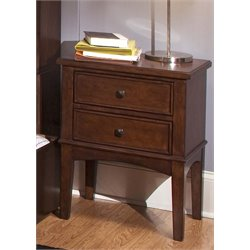 Liberty Furniture Chelsea Square Nightstand in Burnished Tobacco